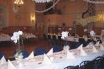 Festsaal des Gasthofs zur Burg in Görzke, Hochzeiten und Familienfeste