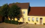 Gasthof zur Burg in Görzke in der Außenansicht
